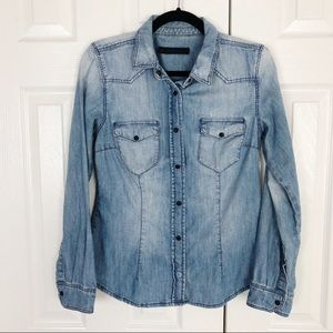 Zara women's button down shirt size M